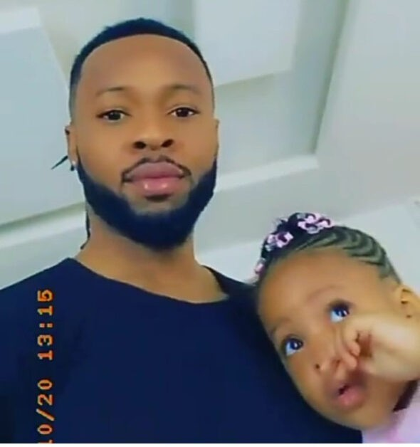 Flavour and his youngest daughter Kaima celebrate their birthdays (video)