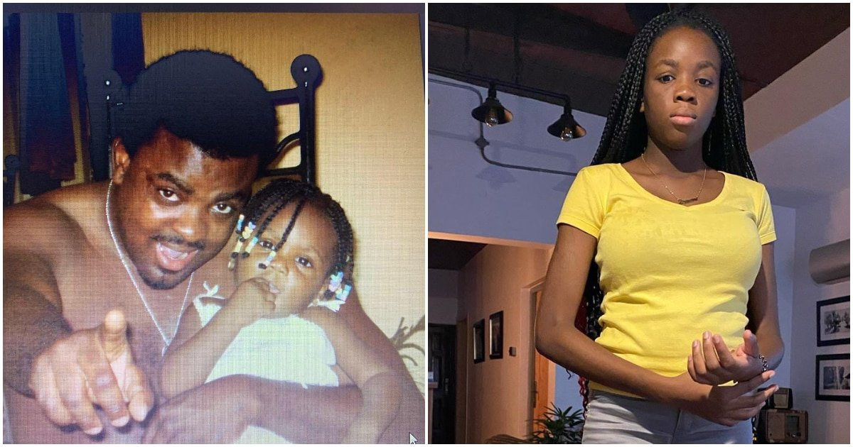 """""""My darling and caring daughter """"Madam Darasimi"""" like we fondly called her is 14 today"""" Kunle Afolayan's pretty daughter Darasimi turns 14 (Pics)"""