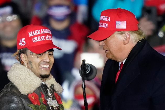 US ELECTIONS: 'Little Pimp'? Trump Mistakes Name of rapper Lil Pump at Final Campaign Rally