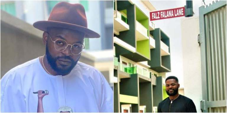Fans React As Falz Gets Street Named After Him In Lagos- Photo