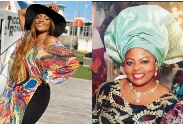 SAD: Another Nollywood Actress Lost Mother To The Cold Hands Of Death