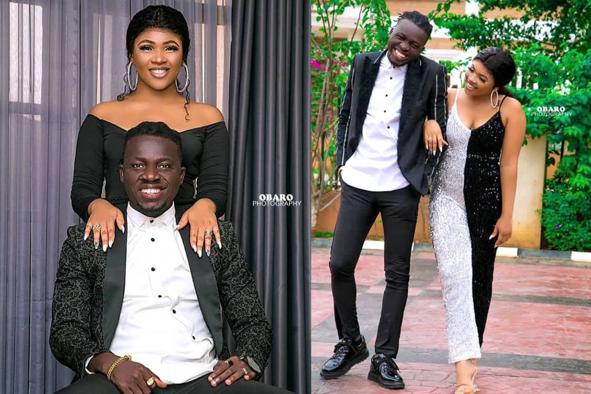 """Triplets Loading"" – Comedian, Akpororo Says As He Celebrate 5th Wedding Anniversary With Wife (PHOTOS)"