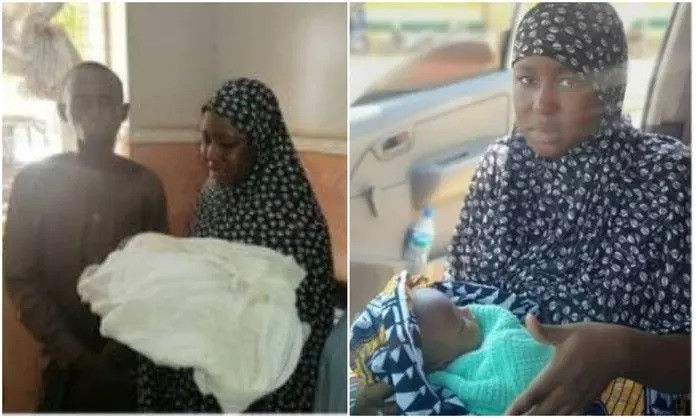 Nigerian couple arrested for stealing three-day old baby
