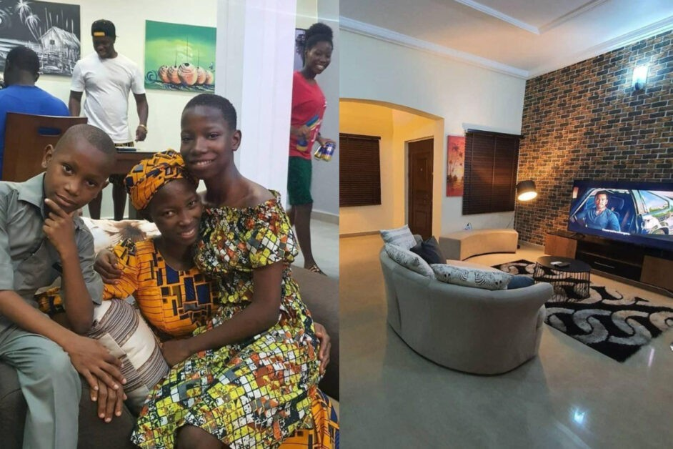Check Out The Interior Of The Multi-Million Naira House Emmanuella Built For Her Mother (Video)