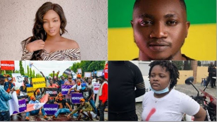Checkout The 10 #EndSars Promoters The Nigerian Govt. Froze Their Bank Accounts.