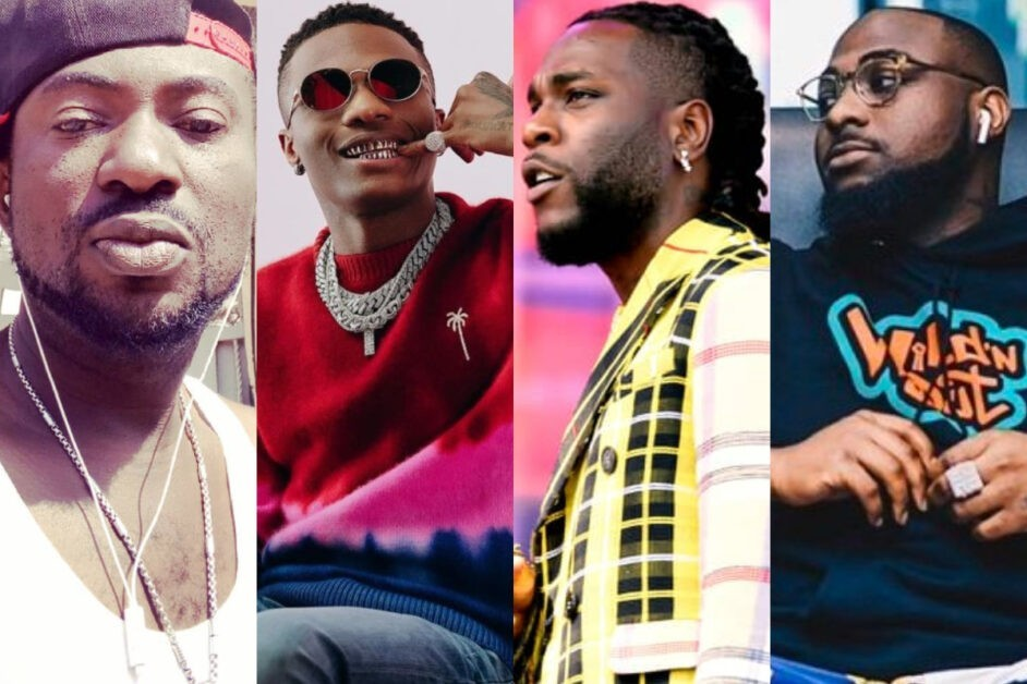 Nigerians drag Black face over what he said about Davido, Wizkid and BurnaBoy