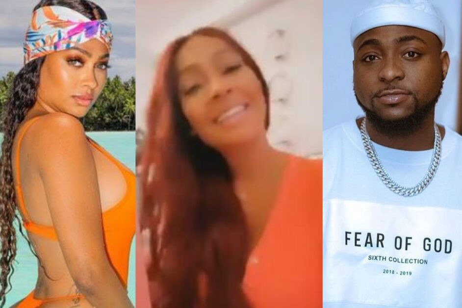 American Actress, La La Anthony Spotted Singing And Dancing To Davido's 'LA LA' Song (Video)