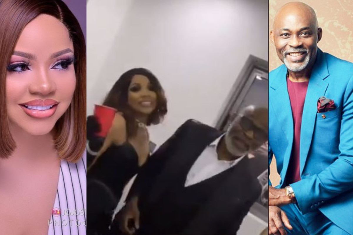 Nengi Spotted Chilling With Nollywood Actor, Richard Mofe Damijo