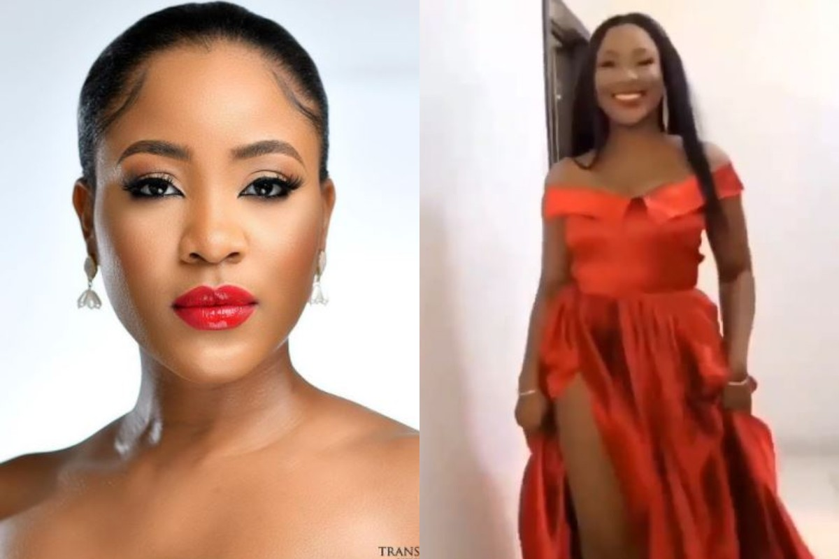 A Unique Glimpse Of Erica Sparkling In Red Outfit For Another Huge Ambassadorial Unveiling (Video)