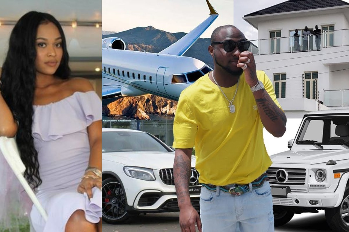 """Davido Will Lose All His Properties To His American Wife, If He Divorces Her"" – IG Lady Reveals"
