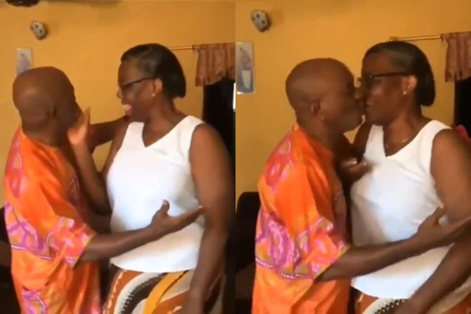Watch Nigerian Parents Dance And Share Kisses With Davido's 'Jowo' Song (Video)
