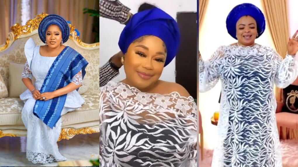 How Toyin Abraham, Sikiratu Sindodo and others stepped out for the burial ceremony of Iyabo Ojo's mum