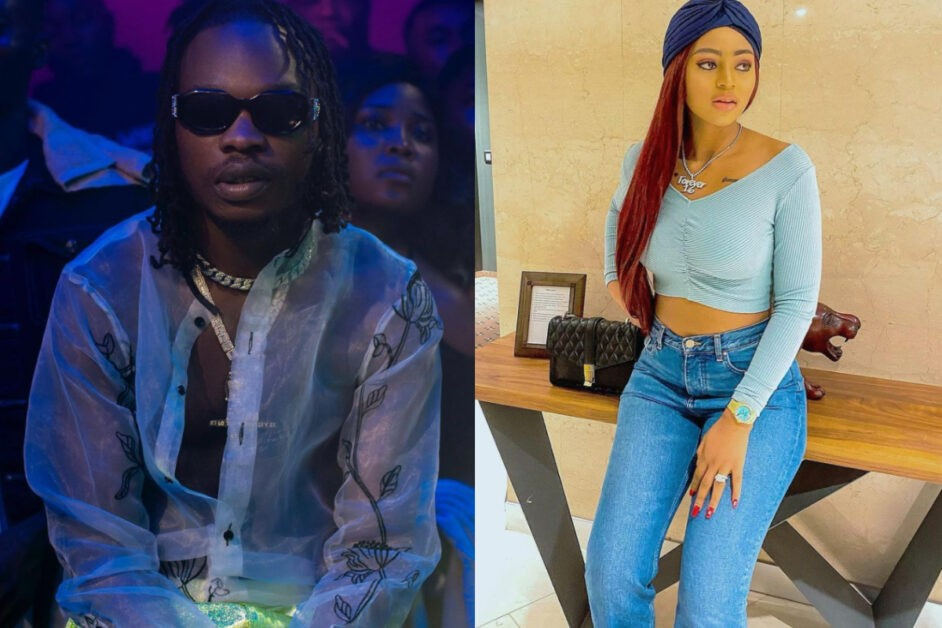 Fans Of Naira Marley React After Naira Marley Wrote This Under Regina Daniels' Post On Instagram For The First Time