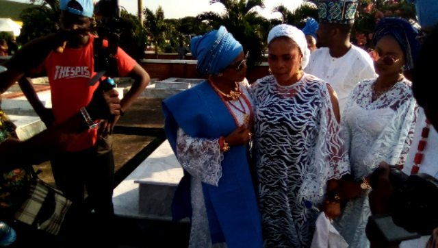 Moments and pictures from the Iyabo Ojo's Mother Burial  Photos and Video