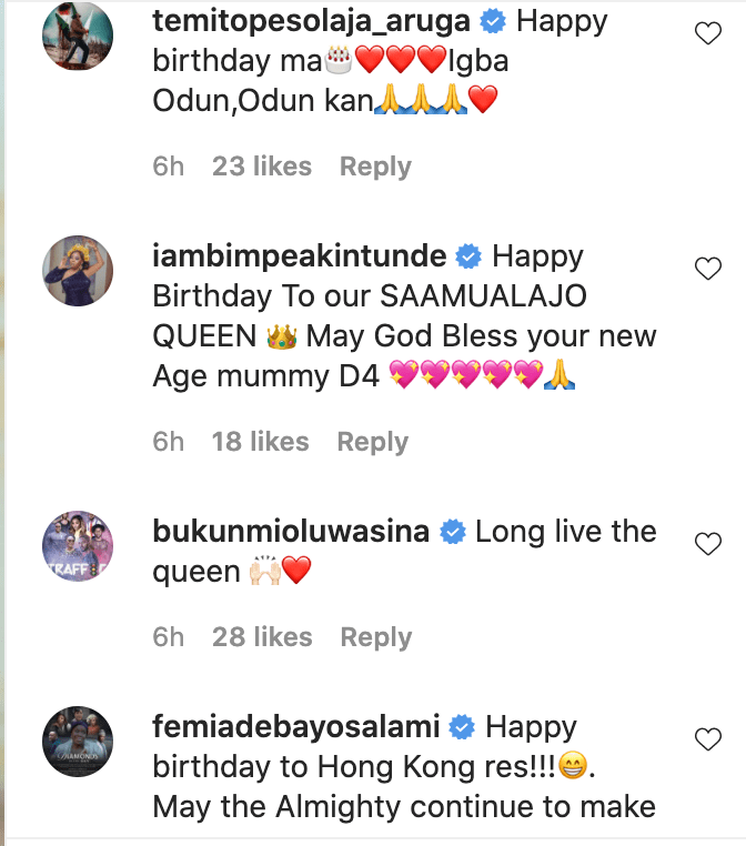 """Please,1000 prayers for Mummy D4"" – Odunlade Adekola Showers Encomium On Wife As She Celebrates Her Birthday (PICS)"