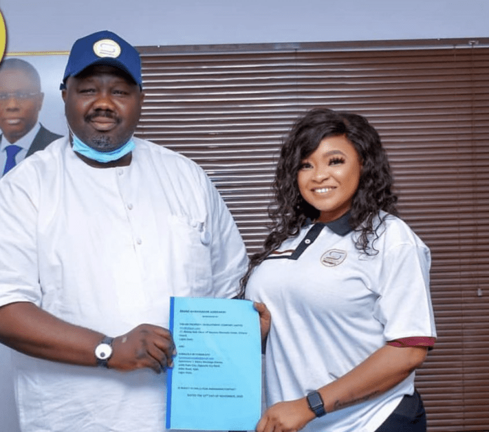 Funmi Awelewa Sign Another Mega Ambassadorial Deal