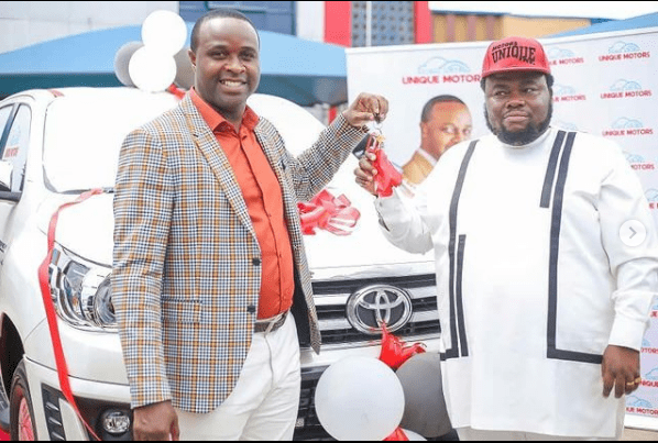 Actor Femi Adebayo Signs Multi-million Naira Deal With Unique Motors, Gets ₦35m Toyota Hilux TRD