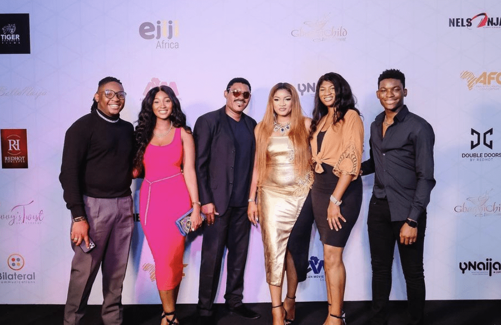 Omotola Jalade-Ekeinde & Her Beautiful Family Take Over The Gram With Their Adorable Family Photos