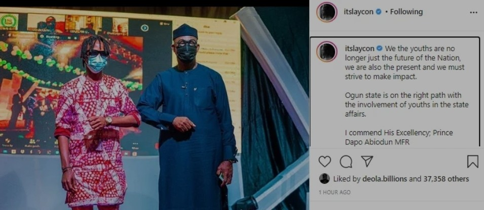 The youths are no longer the future of the Nation' – BBNaija star, Laycon blows hot