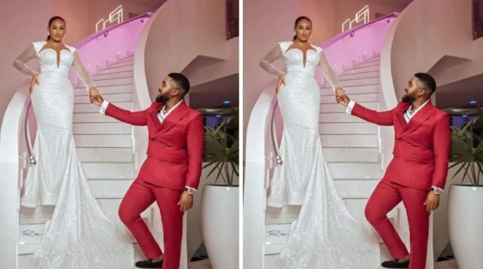 A voice said 'This is my husband' – Williams Uchemba's bride tells their Facebook orchestrated love story