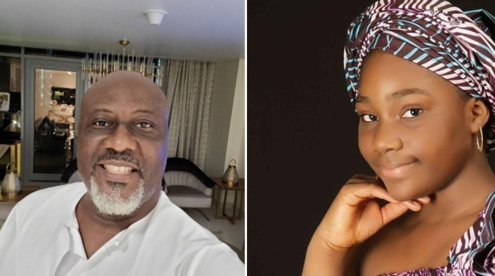 Dino Melaye's 10 year old daughter, Mary Ruth, goes after critics on birthday