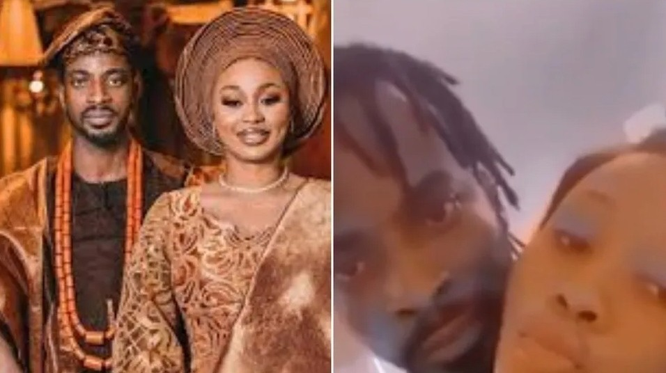9ice caught in bed with another lady months after getting married a third time (video)