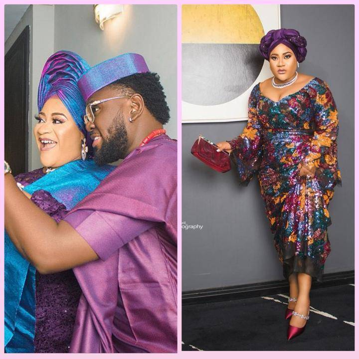 Actress Nkechi Blessing Finally Shows Off Face Of Her Man In Loved-up Photos