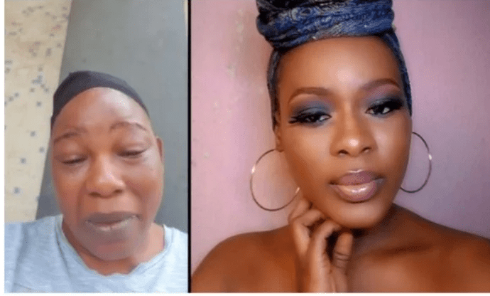 Watch Heartbreaking Moment Ada Ameh Sang As Her Only Child Is Laid To Rest