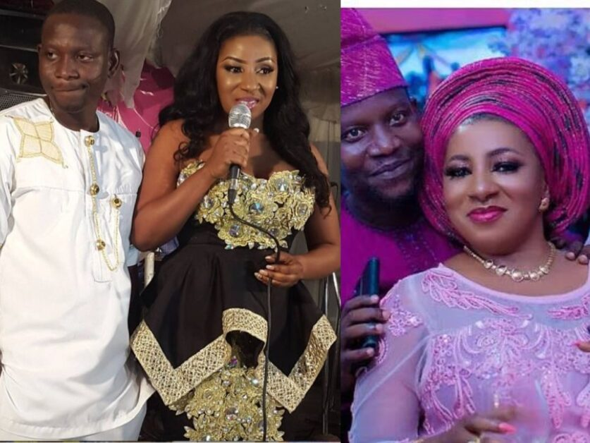 """""""My Husband Is The Best """" – Actress Mide Martins Love Up With Her Husband, Afeez Abiodun"""