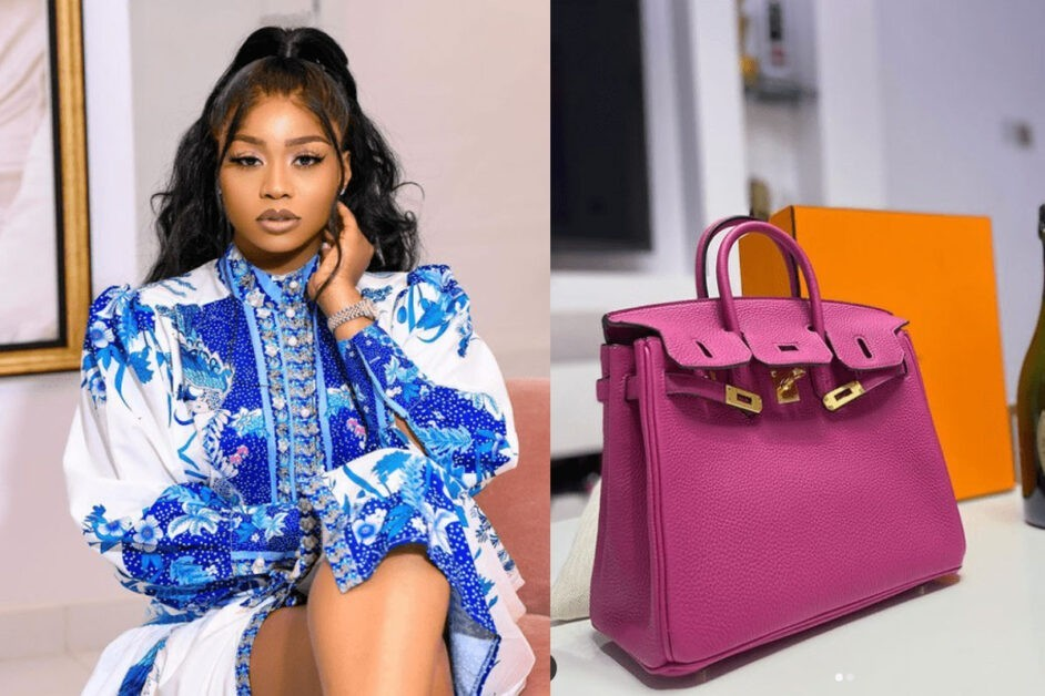 It Won't Wipe Away Your Mother's Sin – Netizen Attacks Lily Afegbai After Flaunting Her $22,000 Birkin Bag