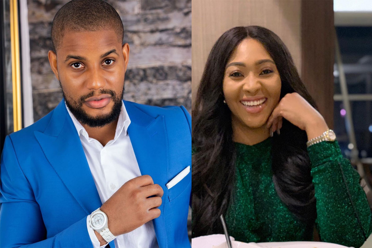 Actress, Lilian Esoro And Alex Ekubo Spark Dating Rumors, Spotted Together Chilling In Dubai (VIDEO)