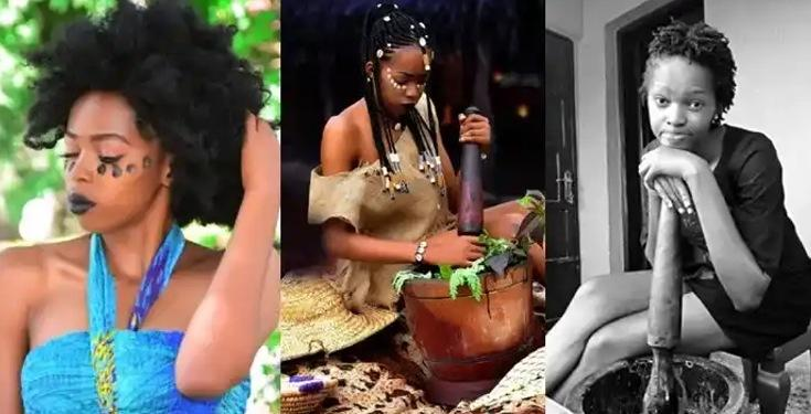 Female Nigerian Graduate Dumps Her Certificate To Become A Native Doctor, Here's Why (Photos)