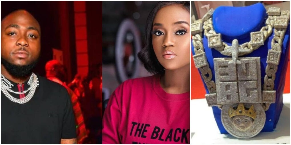 Why A Lot Of People Can't Have Enough Of This Cake Chioma Gave To Davido On His B'day