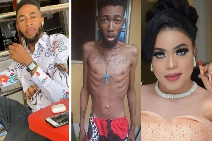 'Thanks For Saving Me'- Man Who Had Leukemia And Was About to Die Thanks Bobrisky After Looking Healthy Now