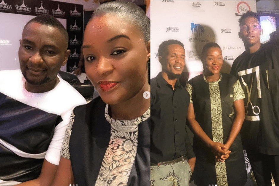 Chacha Eke And Her Husband Pull Up Together At A Fashion Trend Event (PHOTOS)