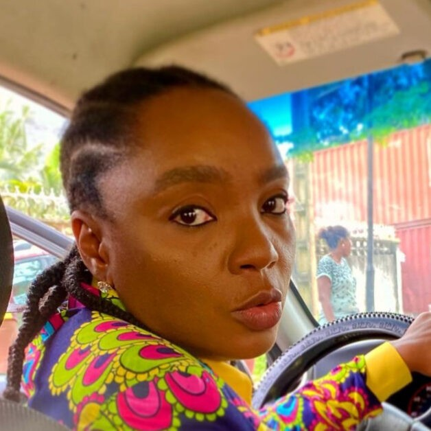 """""""Oga, Please Rate Me Well O. Even If 3 Star Abeg! I Need To Maintain This Job Make My Family Fit Chop, Country Hard"""" – Chioma Akpotha Begs Her Uber Passenge"""