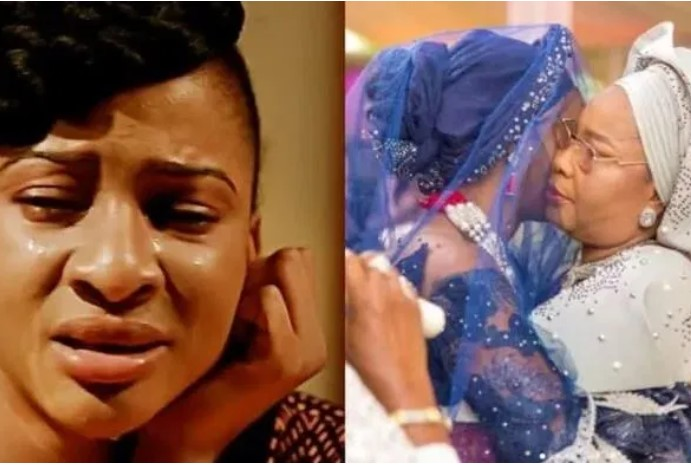 Sadness Hit Adesua Etomi And Other Celebrities As Actress, Wendy Lawal's Mum Dies
