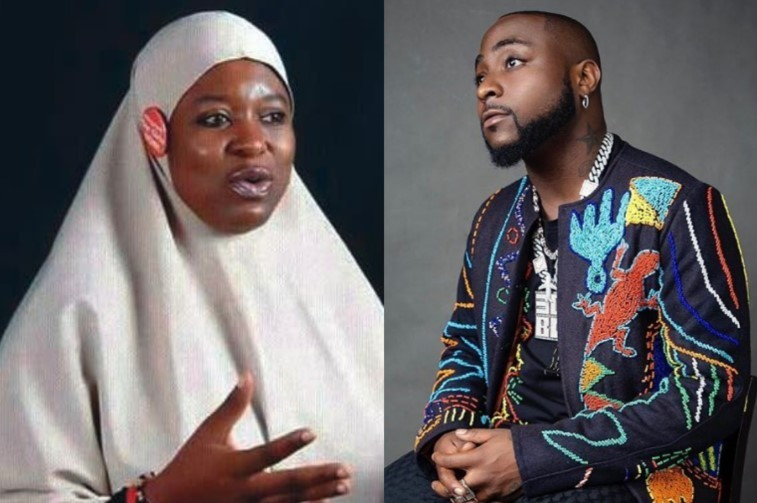 Dangote Will Think Of How To Make The Money Work For Him, Davido Will Think Of How To Spend The Money – Aisha Yesufu Replies Davido's Tweet After He Said N1.2Billion Is Chicken Change For Him