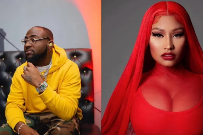 'That's Not The Beat I Used'- Nicki Minaj Reacts to Leaked Song With Davido