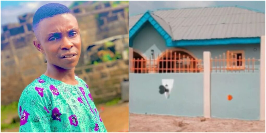 Yoruba Actor, Sisi Quadri shares videos of his New beautiful house as he becomes a landlord – Watch Video