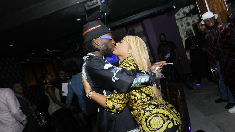 Burna Boy Proves His Love For His Girlfriend Stefflon Don, See What He Did For Her That Got People Talking