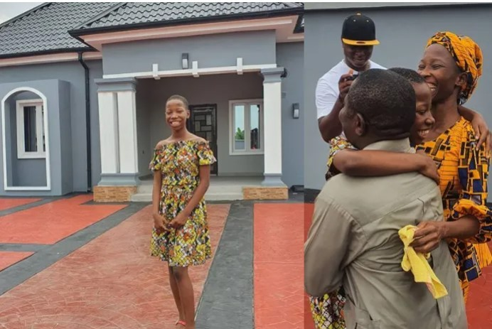 """Mama Don't Worry, It Won't Make Us Go To Hell"" – Kid Comedienne, Emmanuella Says As She Unveils Her Multi-Million Naira Mansion (PHOTOS)"