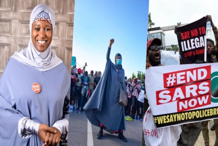 Aisha Yesufu Reacts To The Army's Claims Of No Live Ammunition During The #EndSARS Protest At The Lekki Toll Gate