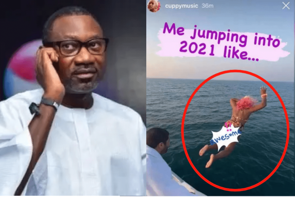Billionaire Femi Otedola Left In Shock Hours After His Daughter DJ Cuppy Jumped Into The Ocean.