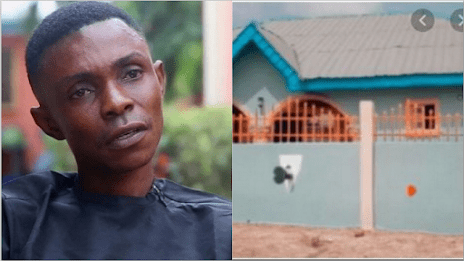 No. 1 Abusive Yoruba Actor Excited As He Becomes A Landlord, Shares Videos Of His Beautiful House.