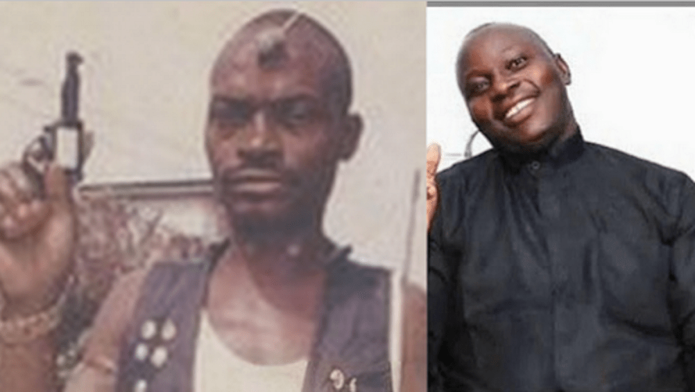 Most Wanted Armed Robber In Nigeria, Shina Rambo Now A Pastor.