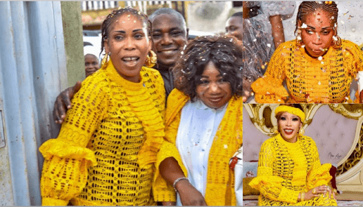 Nollywood Actress Bimbo Success Received A Shocking Birthday Surprise From Her Colleagues And Friends (Video)