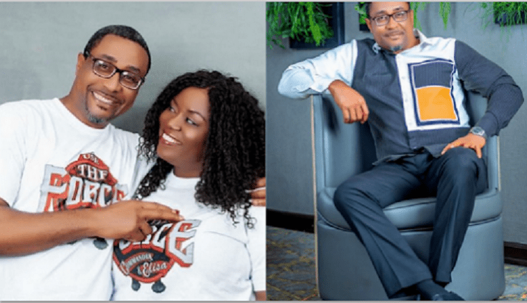 Veteran Nollywood Actor Celebrates 21st Wedding Anniversary With His Wife. (Photos)
