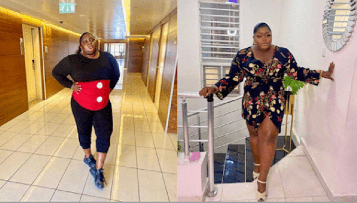 See The Amazing Weight Transformation Of Actress Eniola Badmus That Got People Talking.