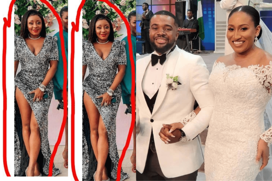 It Is Not A Red Carpet Show, Just A Wedding, See What Ini Edo Wore To Williams Uchemba's Wedding That Got People Talking